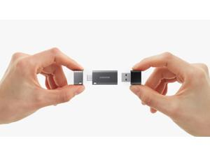 Samsung USB 3.1 USB-C Type C and Type A   DUO Plus  OTG 32GB Up to 300MB/s Flash Drive Water Resistant
