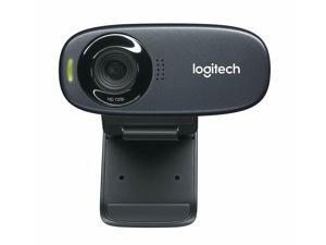 Logitech  USB 2.0 HD 720p Webcam 5 MP Photos Built-In Microphone High Definition Digital Zoom Video Computer Camera