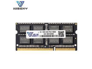 Vaseky  Laptop  Memory  DDR3 Ram 2GB 1333MHz SO-DIMM  204Pin DDR3 PC3 10600 For Intel AMD System Laptop Memory Model