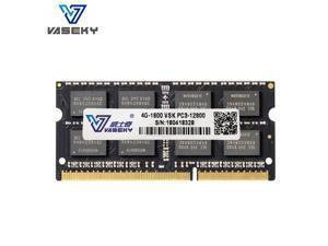 Vaseky  Laptop  Memory  DDR3 Ram 4GB 1600MHz SO-DIMM  204Pin DDR3 PC3 12800 For Intel AMD System Laptop Memory Model