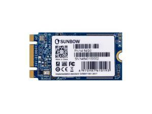 TC-SUNBOW M.2 SSD NGFF N4 2242mm N8 2280mm Internal Solid State Drive Disk 120GB 240GB External Cache for Ultrabook Desktop PCs and Mac Pro(N4 64GB)