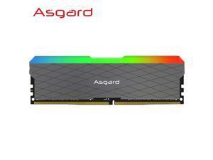 Asgard W2 Series RGB Breathing Lamp 16GB 3000MHz DDR4 DIMM XMP Desktop Memory Module Support Motherboard 288pin Memory Ram DDR4 Desktop Memory Rams