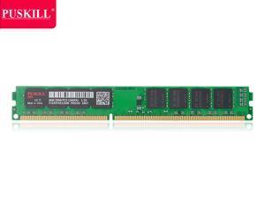 PUSKILL Desktop Ram Memory  8GB Ram DDR3 1333 MHz RAM 1.5V 240 Pin Unbuffered DIMM Memory Modules Chips DDR3 1333 (PC3 10600) for Intel AMD System Desktop Computer
