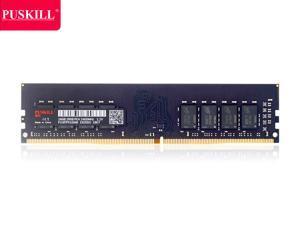 PUSKILL Desktop Ram Memory 16GB Ram DDR4 2400 MHz RAM 1.2V 288 Pin Unbuffered DIMM Memory Modules Chips DDR4 2400 (PC4 19200) for Intel AMD System Desktop Computer