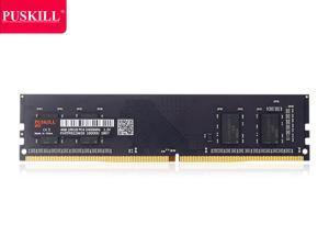 PUSKILL Desktop Ram Memory 4GB Ram DDR4 2400 MHz RAM 1.2V 288 Pin Unbuffered DIMM Memory Modules Chips DDR4 2400 (PC4 19200) for Intel AMD System Desktop Computer