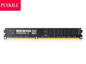 PUSKILL Desktop Ram Memory  4GB Ram DDR3 1600 MHz RAM 1.5V 240 Pin Unbuffered DIMM Memory Modules Chips DDR3 1600 (PC3 12800) for Intel AMD System Desktop Computer