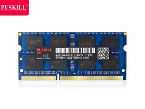 PUSKILL AMD RAM 8GB DDR3 AMD Edition Notebook Memory 1600mHZ AMD Edition Memory DDR3 1600 (PC3 12800) 1.35V 204-Pin Non ECC Laptop Memory Model Only for AMD Notebook