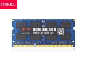 PUSKILL AMD RAM 4GB DDR3 AMD Edition Notebook Memory 1333mHZ AMD Edition Memory DDR3 1333 (PC3 10600) 1.35V 204-Pin Support ECC Laptop Memory Model Only for AMD Notebook