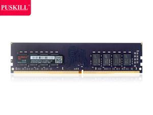 PUSKILL Desktop Ram Memory 16GB Ram DDR4 2133 MHz RAM 1.2V 288 Pin Unbuffered DIMM Memory Modules Chips DDR4 2133 (PC4 17000) for Intel AMD System Desktop Computer