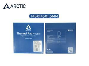 Arctic Cooling Thermal Pad APT2560 High Thermal Conductivity Insulating Silicone Paste Pads 6.0 W/mK High Performance Gap Filler-Blue 145×145×1.5mm