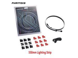 Phanteks NEON Digital-RGB LED Strip M5 (PH-NELEDKT_M5) Meter Smooth Lighting Strip, Full-Color Range, Flexible mounting 5V 3PIN ARGB Symphony Programmable LED Strip-550mm