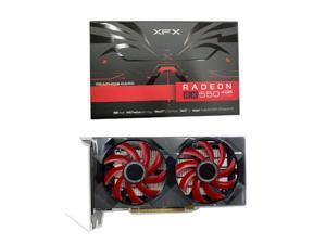 XFX Radeon RX 550 4GB DDR5 Double Dissipation 128-Bit DP HDMI DVI, AMD Graphics Card(RX-550P4PFG5 )