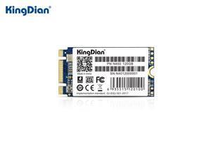 KingDian M.2 SSD 2242 NGFF SATA 4CH 3D NAND Flash SSD 64GB 120GB 240GB SSD Internal Solid State Drive for Desktop Notebook Silent SSD TLC Storage Grain  (N400 120G)