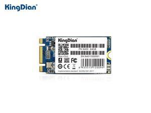 KingDian M.2 SSD 2242 NGFF SATA 4CH 3D NAND Flash SSD 64GB 120GB 240GB SSD Internal Solid State Drive for Desktop Notebook Silent SSD TLC Storage Grain  (N400 64G)