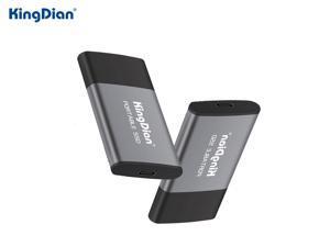 KingDian Portable SSD 120GB 250GB 500GB 1TB External SSD USB3.0 Type C External Solid State Hard Drive For Laptop Desktop(P10 250GB)
