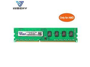 Vaseky AMD RAM 4GB DDR3 Memory 1333mHZ AMD Edition Memory DDR3 1333 (PC3 10600) Desktop Memory Model Only for AMD Desktop