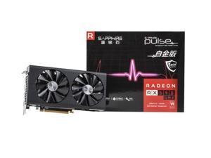 SAPPHIRE Radeon RX 590 GME 8G 256-Bit GDDR5 Platinum Edition DirectX 12 PCI Express 3.0 CrossFireX Support ATX VR Ready Video Card