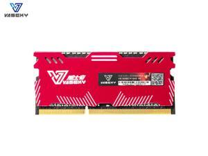 Vaseky RAM 8GB DDR3 1600MHz SO-DIMM Non-ECC UDIMM 204Pin PC3-12800 Laptop Memory Upgrade Module with Cool Vest Knight RAM