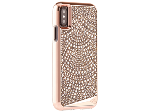 casemate iphone x case  brilliance  800+ genuine crystals  protective design for apple iphone 10  lace