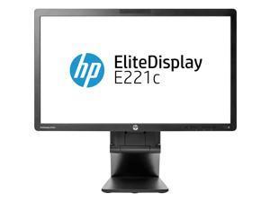 "HP Elitedisplay E221C 21.5"" Widescreen Monitor 1920 X 1080 7 ms 60 Hz 250 Nit Black"