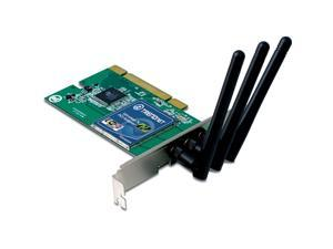 TRENDnet Wireless N 300 Mbps PCI Adapter, TEW-623PI