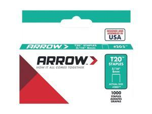 30 Pk Arrow T20 High-Quality Performance Staple, 5/16 In. Length (1000-Pack)