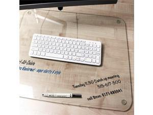 Desktex Glaciermat Glass Desk Pad Size 19 x 24
