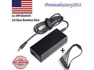 60W Power Supply Adapter +8 Split Power Cable for CCTV Security Camera DVR