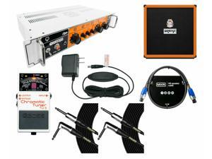 Orange Amplifiers OB1-300 + OBC410 Cabinet + Tuner + Power Supply + Cables