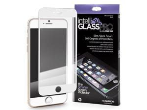 intelliARMOR iPhone 6/6S intelliGLASS Anti-Radiation-The Smarter Glass Screen Protector Guard Against Scratches & Drops, Ultra HD Clear, Max Touchscreen Accuracy – White