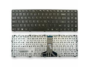Keyboard for Lenovo Ideapad 100-15IBD US PK1310E1A00 SN20J78609 With Frame