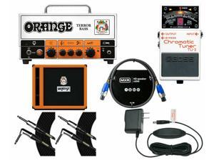 Orange Amplifiers Terror Bass + OBC115 Cabinet + Tuner + Power Supply + Cables