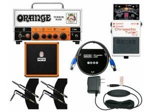 Orange Amplifiers Terror Bass + OBC410 Cabinet + Tuner + Power Supply + Cables