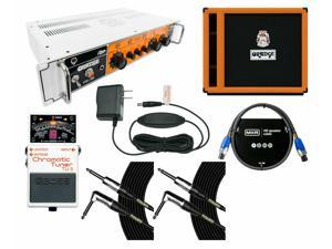 Orange Amplifiers OB1-300 + OBC115 Cabinet + Tuner + Power Supply + Cables