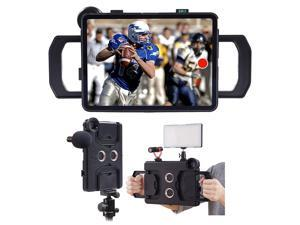 MegaMount Multimedia Rig Case Video stabilizer for Apple iPad Pro 12.9 inch[2018 3rd GEN ONLY] Easily Attach Lenses, Lights, Microphones. Great for Video Recording. Mounts on Tripods and Monopods