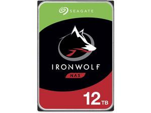 Seagate IronWolf 12TB NAS Internal Hard Drive HDD – CMR 3.5 Inch SATA 6Gb/s 7200 RPM 256MB Cache for RAID Network Attached Storage – Frustration Free Packaging (ST12000VN0008)