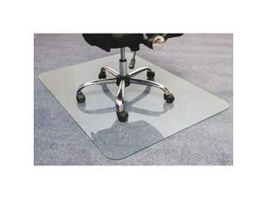 Floortex Glaciermat Glass Chairmat (124860eg)
