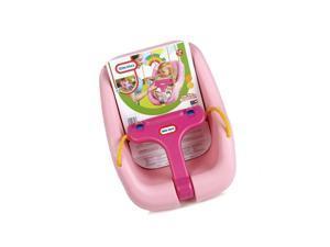 Little Tikes 2-in-1 Snug n Secure Swing, Pink