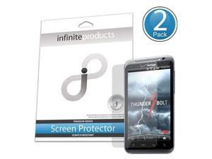 Infinite Products Quasar Screen Protection Film for HTC ThunderBolt - 2 Pack - Packaging - Diamond