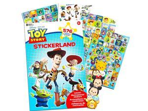 Disney Pixar Toy Story Party Favors Stickers Pack ~ Bundle with 600 Toy Story Stickers (Toy Story Party Supplies)