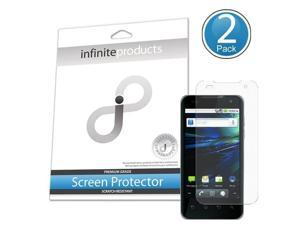 Infinite Products Quasar Screen Protector Film for LG Optimus 2X/G2x - 2 Pack - Packaging - Diamond