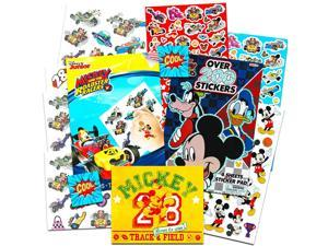 Disney Mickey Mouse Stickers and Tattoos Party Favors Set -- Includes Over 220 Mickey Mouse Stickers, 50 Temporary Tattoos and Sticker Album (Party Supplies Pack)