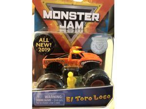MJ 2019 Spin Master El Toro Loco Monster Jam Diecast 1:64 Scale