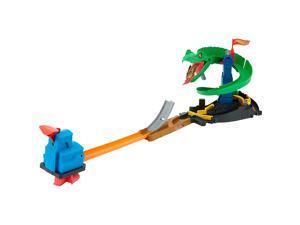 Hot Wheels City Cobra Crush Playset, Save Hot Wheels City from the Giant Cobra