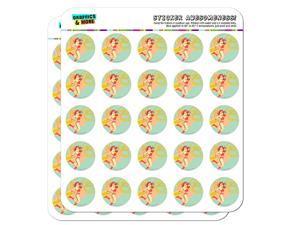 Wonder Woman Golden Lasso Planner Calendar Scrapbooking Crafting Stickers
