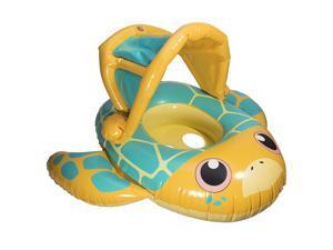 SwimWays Sun Canopy Baby Boat - Turtle