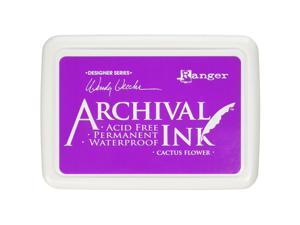 Ranger AID48985 Wendy Vecchi Designer Series Archival Ink Pad, Cactus Flower
