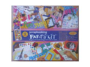 Scrapbooking Party Kit; Create a Lasting Gift for Your Guest of Honor; Up to 12 People