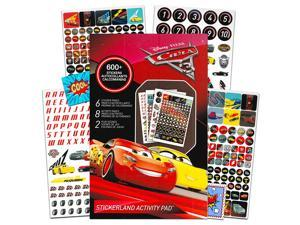 Disney Cars 3 Stickers - Over 295 Cars Stickers Bundled with Specialty Separately Licensed GWW Reward Stickers