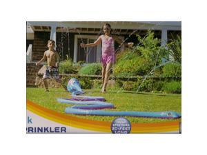 Discovery Kids Inflatable Twisty Trunk Elephant Sprinkler Water Toy (Trunk Stretches 20 Feet Long)